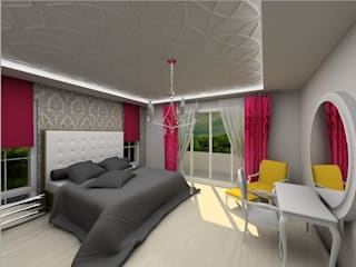 Ayca Ovet Modern Yatak Odası Ayça İç Mimarlık Modern