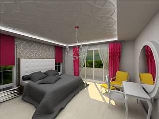 Modern style bedroom by Ayça İç Mimarlık Modern