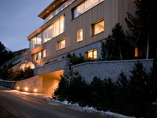 Villa im Engadin:  Villa von steigerconcept ag