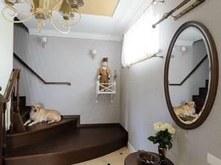 Projekty,  Korytarz, przedpokój zaprojektowane przez Angelika Moroz interior design ,