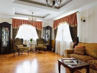 Частный дом Минская обл. Гостиная в классическом стиле от Angelika Moroz interior design Классический