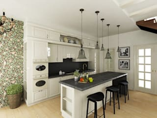 Eclectic DesignStudio Eclectic style kitchen