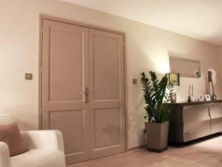 Rénovation d'un séjour par J'ose - Architecte d'intérieur Moderne