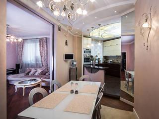 столовая-кухня:  в . Автор – Архитектурно-дизайнерское бюро Натальи Медведевой 'APRIORI design'