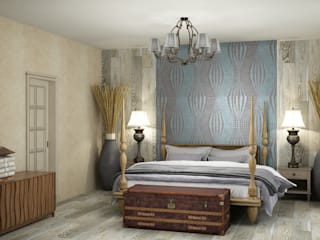 Bedroom by Eclectic DesignStudio, Eclectic