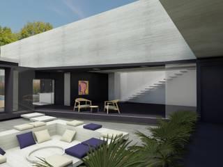 Minimalist style garden by Najmias Oficina de Arquitectura [NOA] Minimalist