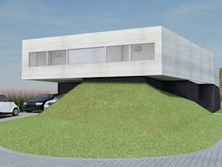 Minimalist house by Najmias Oficina de Arquitectura [NOA] Minimalist