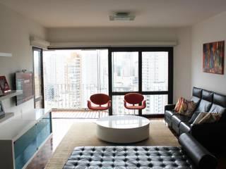Phòng khách phong cách tối giản bởi Najmias Oficina de Arquitectura [NOA] Tối giản