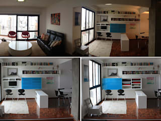 minimalist  by Najmias Oficina de Arquitectura [NOA], Minimalist