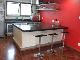 Nhà bếp phong cách tối giản bởi Najmias Oficina de Arquitectura [NOA] Tối giản