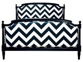 Łóżko Chevron cena: 1500 zł od Hampton House Eklektyczny