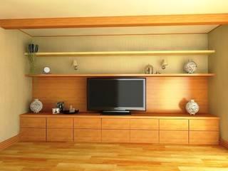 Salas de estilo minimalista de Андреева Валентина Minimalista