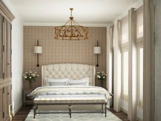 Eclectic DesignStudio Country style bedroom