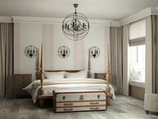 Bedroom by Eclectic DesignStudio