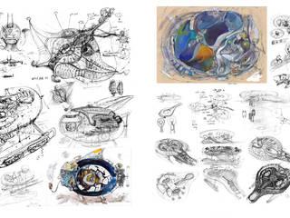 THREE SPIRITS DESIGN Nowoczesne jachty i motorówki od Filip Kurzewski Nowoczesny