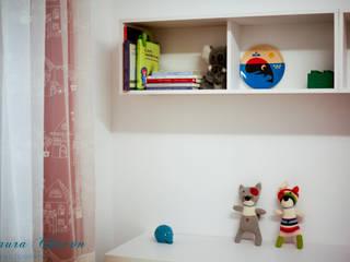 HABITACIÓN JUVENIL CHICA Dormitorios infantiles de estilo moderno de LA ALCOBA Moderno