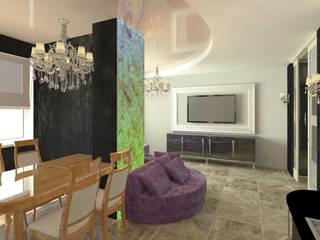 Квартира на берегу моря для одного человека. Гостиная в классическом стиле от Андреева Валентина Классический