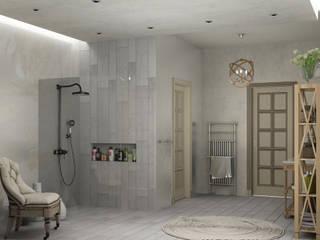 Eclectic DesignStudio Eclectic style bathroom