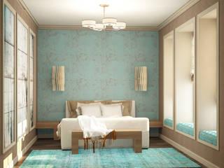 Eclectic DesignStudio Eclectic style bedroom