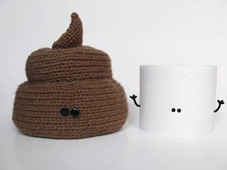 """Couvre Papier Toilette """"Mr Caca"""":  de style  par Little Emma K"""