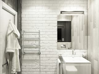 Eclectic DesignStudio Minimalist style bathroom