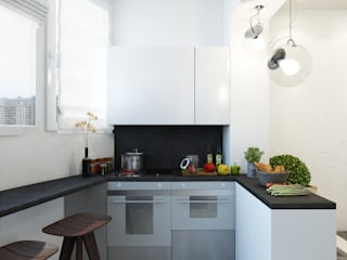Kitchen by Eclectic DesignStudio, Minimalist