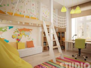 MIKOŁAJSKAstudio が手掛けた子供部屋