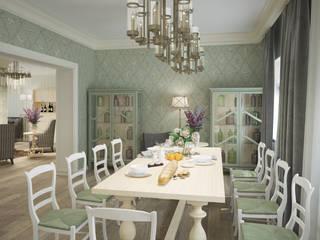 Eclectic DesignStudio Classic style dining room