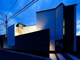 江津の住処: 岩瀬隆広建築設計が手掛けた家です。,