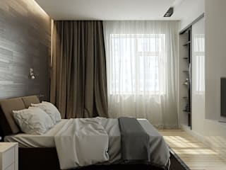 Minimalist bedroom by Kristina Petraitis Design House Minimalist