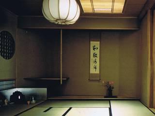茶室作例集: 樹・中村昌平建築事務所が手掛けた現代のです。,モダン
