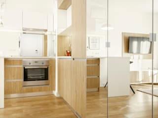 Modern kitchen by UNQO Modern