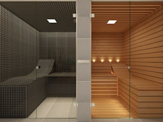 Bespoke Steam Room and Sauna - Effegibi Steam and Sauna Innovation Спальня