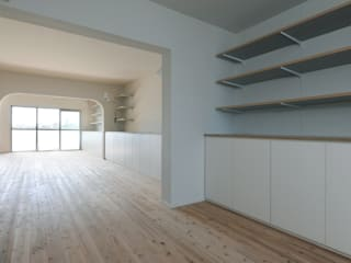 市原忍建築設計事務所 / Shinobu Ichihara Architects Modern dining room