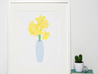 Modern Floral Art Prints:   by Sweet Oxen