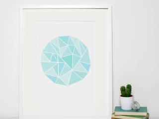 Modern Geometric Art Prints:   by Sweet Oxen