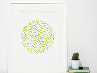Chartreuse/Lime Art Print:   by Sweet Oxen