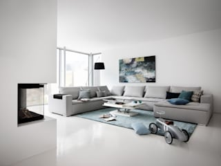 Living room inspiration: modern  by BoConcept Bristol, Modern