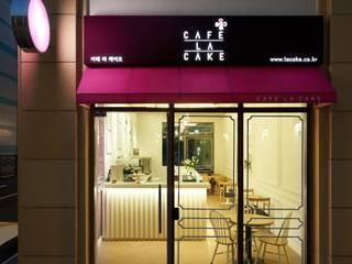 [DesigN m4]_식음공간 인테리어_CAFE LA CAKE: Design m4의  상업 공간