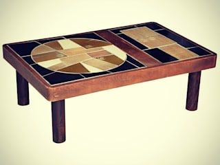 durak art deco & modern – 70's Ceramic Coffee Table  Designed by Roger Capron :  tarz