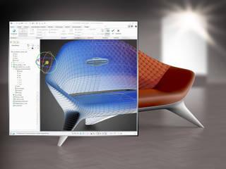 Sofa-Freiform-Modellierung und Visualisierung:   von ThomasCleverDesign