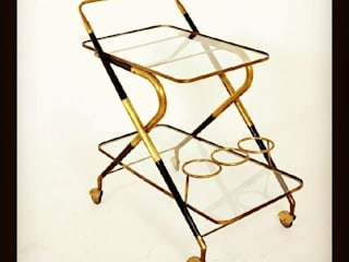 durak art deco & modern – Serving Trolley Designed By Cesare Lacca ( Italy 50's):  tarz