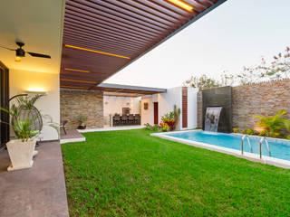 Enrique Cabrera Arquitecto Balcone, Veranda & Terrazza in stile moderno