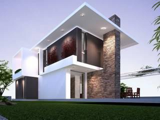 Villa con struttura in XLAM di AGA Studio