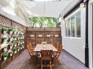 Terraza Jardines de estilo moderno de Time2dsign Moderno