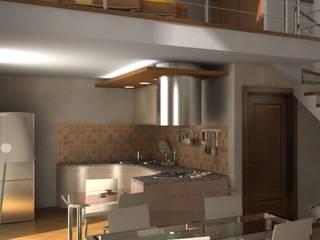 Casa Privata: Sala da pranzo in stile  di Diorama Snc