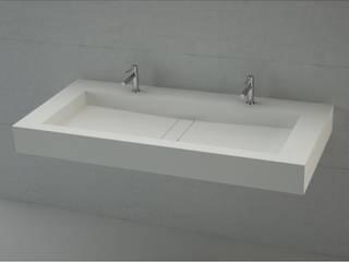 Lavabo de Corian® AREA con Encimera a medida. Baños de Autor BañosLavabos