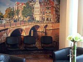 fotobehang amsterdamse grachten gang en hal door kleurmijninterieurnl