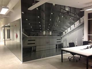 Study/office by kleurmijninterieur.nl, Modern