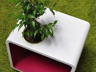 Chevet cube végétal !:  de style  par Evo green design